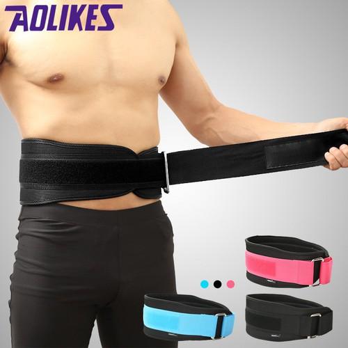Đai lưng mềm tập Gym hỗ trợ tập đùi, chân, Squats, Deadlift