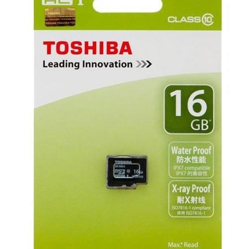Thẻ nhớ 16G ToshibaClass 10