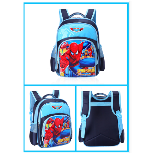 ba lô người nhện cho bé lớp 1 2 3