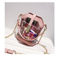 Túi xách trong 2in1 sành điệu-shop HOA TRANH-MÃ HTST15