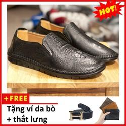 Giày lười nam | Giày nam đẹp | giày da nam | shop giày nam | L451-L