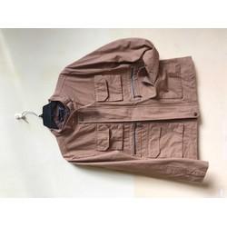 khoác kaki nữ túi hộp thời trang made in Korea