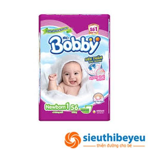 Miếng lót sơ sinh Bobby newborn 1 64 miếng