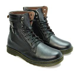 giày boot nam da bò thời trang
