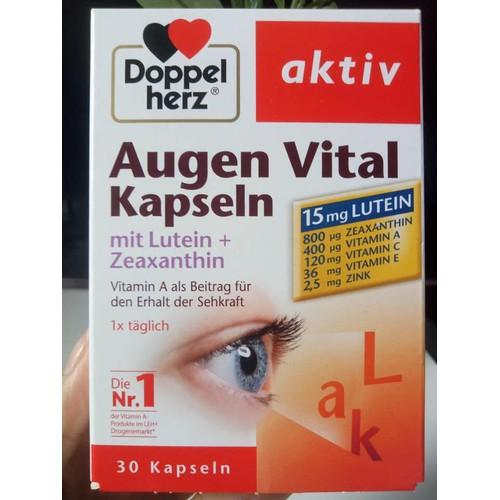 bổ mắt Augen vital kapseln
