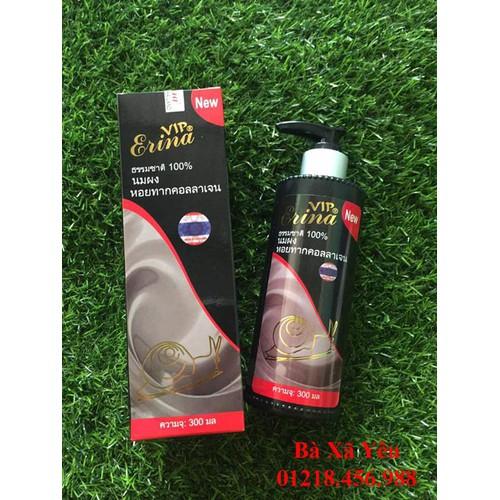 Combo 5 chai Tắm trắng ốc sên collagen vip erina - 6017858 , 10117544 , 15_10117544 , 199000 , Combo-5-chai-Tam-trang-oc-sen-collagen-vip-erina-15_10117544 , sendo.vn , Combo 5 chai Tắm trắng ốc sên collagen vip erina