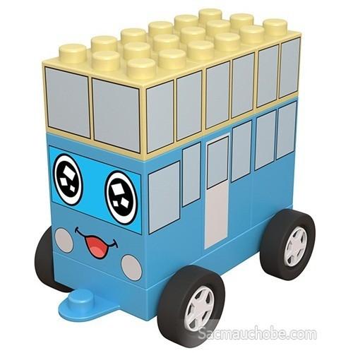 Đội xe biến hình chichi land - mô hình xe bus nhanh nhẹn