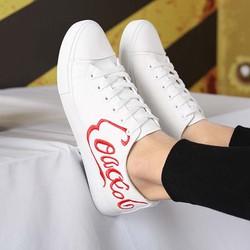 giày neaker nam coaccol Mã: GH0600 - TRẮNG