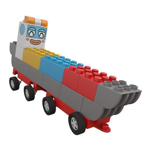 Đội xe biến hình Chichi Land đồ chơi - Mô hình xe Chở hàng thông minh