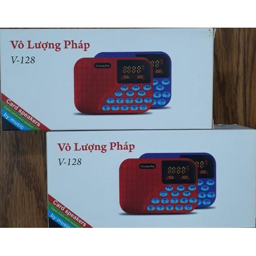 Loa V128 nghe fm-