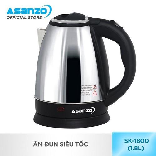 Bình đun nước siêu tốc Asanzo 1.8L