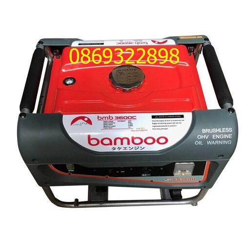 Máy phát điện bmb 3600C 2.5kw,xăng,giật tay