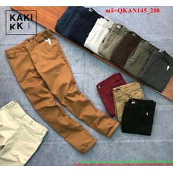 Quần kaki nam phong cách lịch lãm sang trọng QKAN145