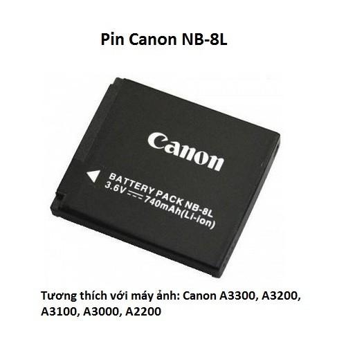 Pin Canon NB-8L