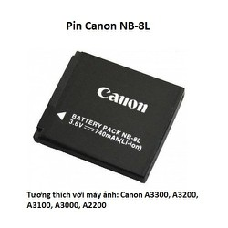 Pin Canon NB-8L