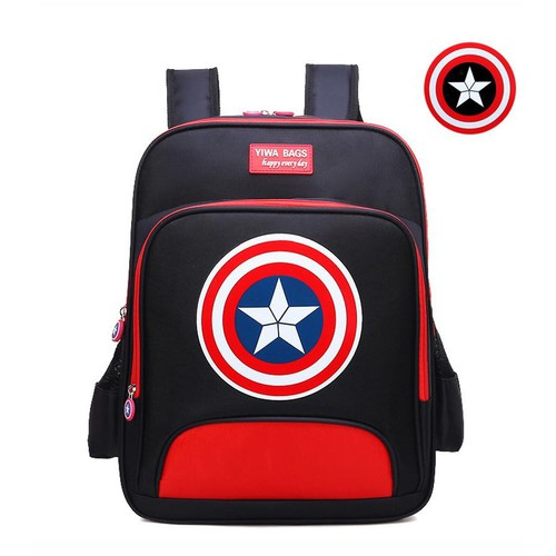 Balo học sinh Captain America sang đẹp - 4055759 , 10149881 , 15_10149881 , 200000 , Balo-hoc-sinh-Captain-America-sang-dep-15_10149881 , sendo.vn , Balo học sinh Captain America sang đẹp