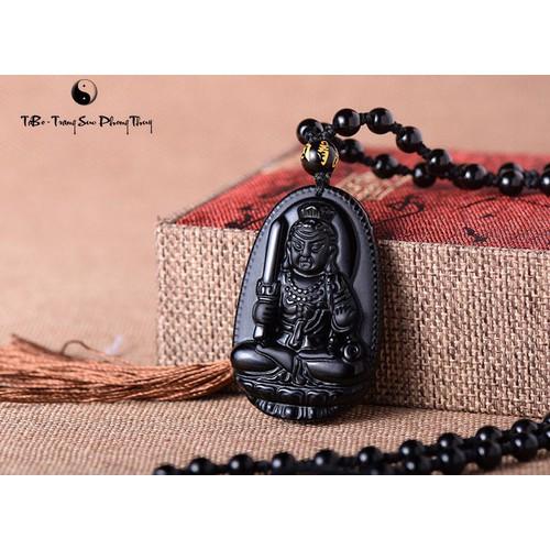 Phật bản mệnh đá onix cho tuổi dậu.