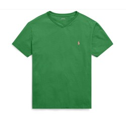 Áo thun bé trai cổ tim Polo Ralph Lauren xuất xịn - màu xanh lá cây