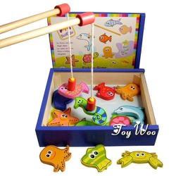 Bộ đồ chơi- Bộ đồ chơi câu cá nam châm bằng gỗ BOKIDO