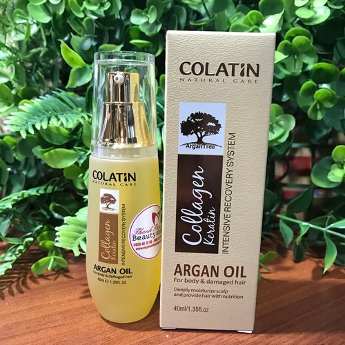 Tinh dầu dưỡng tóc Argan Colatin 40ml - 4056114 , 10150470 , 15_10150470 , 235000 , Tinh-dau-duong-toc-Argan-Colatin-40ml-15_10150470 , sendo.vn , Tinh dầu dưỡng tóc Argan Colatin 40ml