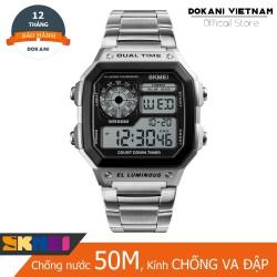 Đồng hồ thể thao nam Skmei AEW1200 Dual time chống nước 5ATM
