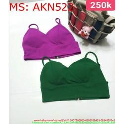 Áo kiểu nữ croptop 2 dây sành điệu và thời trang AKN522