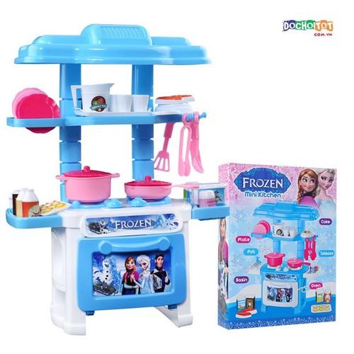 Bộ đồ chơi nhà bếp mini kitchen frozen