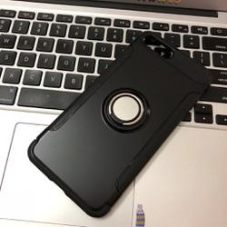 Apple iPhone 7 8 - Ốp lưng bảo vệ 2 lớp có nhẫn cho điện thoại