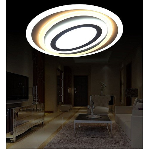 Đèn mâm ốp trần hiện đại MO-950_LED 3 chế độ màu