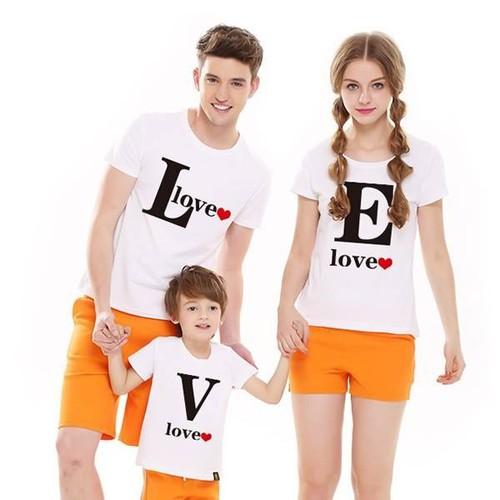 áo thun gia đình yêu thương