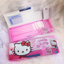 Hộp bút nhựa Hello Kitty