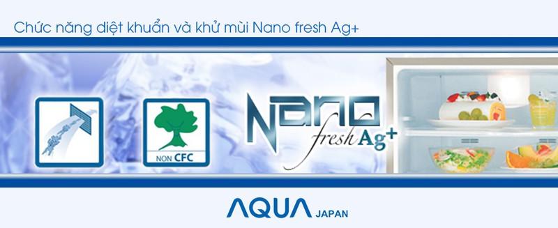 Chức năng diệt khuẩn và khử mùi Nano fresh Ag+