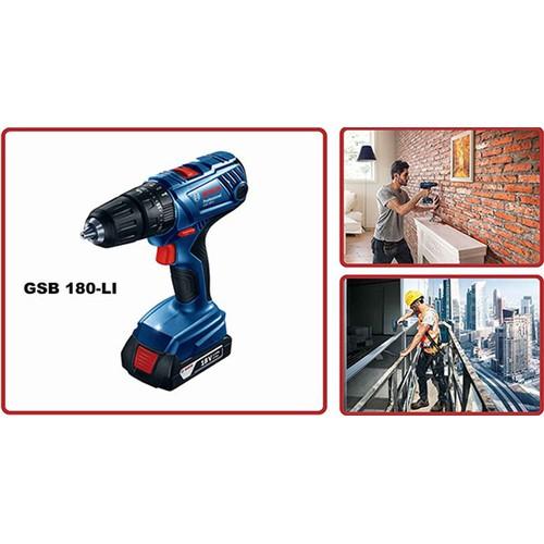Máy khoan búa vặn vít dùng PIN Bosch GSB 180-LI - 4057897 , 10152908 , 15_10152908 , 3217000 , May-khoan-bua-van-vit-dung-PIN-Bosch-GSB-180-LI-15_10152908 , sendo.vn , Máy khoan búa vặn vít dùng PIN Bosch GSB 180-LI