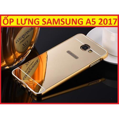 ỐP LƯNG TRÁNG GƯƠNG SAMSUNG A5 2017
