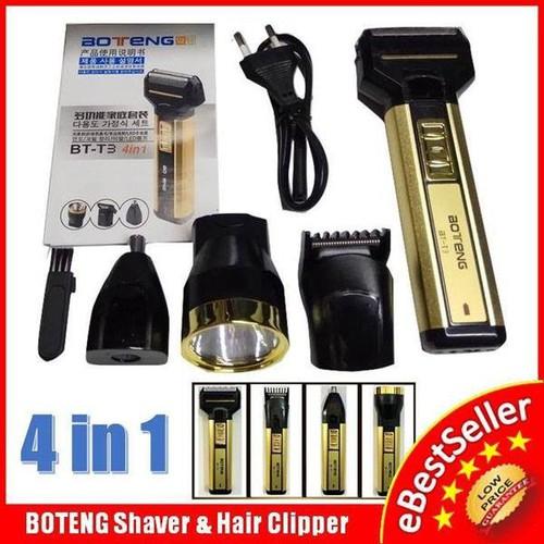 Tông đơ cắt tóc kiêm máy cạo râu 4 chức năng