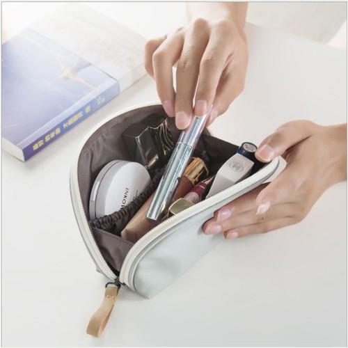 Túi đựng mỹ phẩm, đồ trang điểm cầm tay phong cách Hàn Quốc