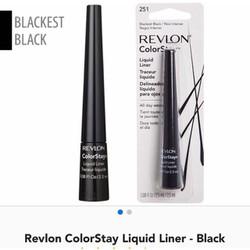 Kẻ mắt nước R evlon ColorStay Liquid Liner màu đen