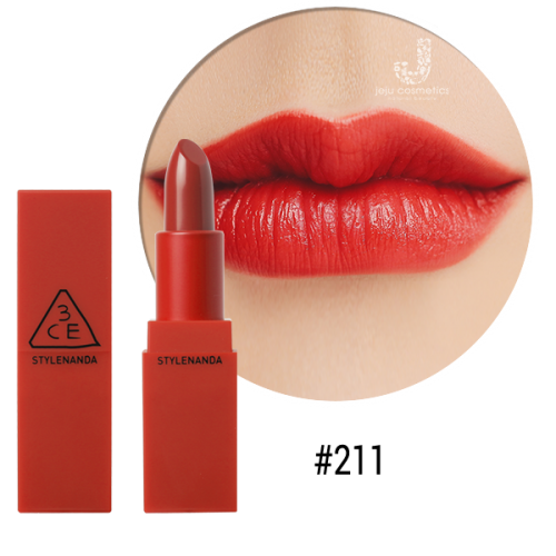 [Chính Hãng] Son 3CE Red Recipe Matte Lip Color #211 Dolly