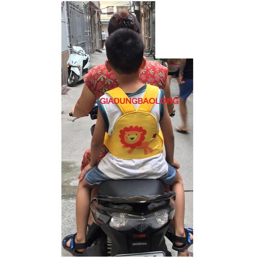 Đai xe máy 3d đa năng cho bé vn bé trai