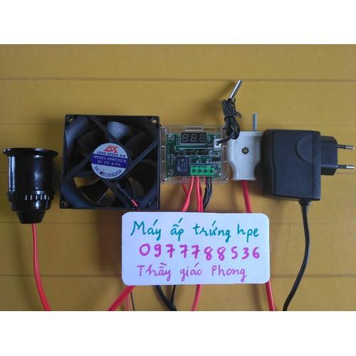 Bộ điều khiển nhiệt hpe2- tặng kèm ẩm kế và đèn