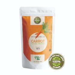 TRÁI CÂY SẠCH-Bột cà rốt hữu cơ OneLife bịch 100gr SUA