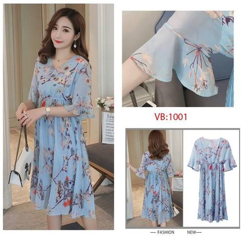 Váy bầu voan hoa xanh đầm bầu thời trang bầu Hàn Quốc cực chất - 6698923 , 13381937 , 15_13381937 , 370000 , Vay-bau-voan-hoa-xanh-dam-bau-thoi-trang-bau-Han-Quoc-cuc-chat-15_13381937 , sendo.vn , Váy bầu voan hoa xanh đầm bầu thời trang bầu Hàn Quốc cực chất