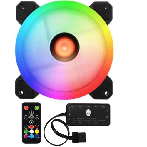 Fan case RGB - Dual Ring 16 Triệu màu kèm điều khiển
