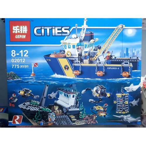 đồ chơi lắp ráp thông minh non-lego lepin 02012 tàu do thám đáy biển - 4068489 , 10167238 , 15_10167238 , 759000 , do-choi-lap-rap-thong-minh-non-lego-lepin-02012-tau-do-tham-day-bien-15_10167238 , sendo.vn , đồ chơi lắp ráp thông minh non-lego lepin 02012 tàu do thám đáy biển