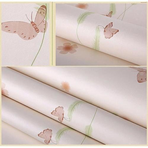 10m Giấy dán tường bướm hồng cam khổ rộng 45cm - 4069193 , 10168076 , 15_10168076 , 158000 , 10m-Giay-dan-tuong-buom-hong-cam-kho-rong-45cm-15_10168076 , sendo.vn , 10m Giấy dán tường bướm hồng cam khổ rộng 45cm