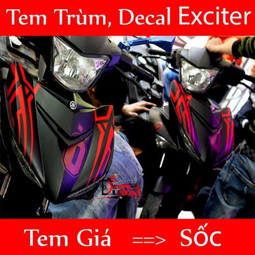 Tem Trùm Exciter 150 Tem Ex Nhám Đen ĐỎ 0 - 4073325 , 10174321 , 15_10174321 , 350000 , Tem-Trum-Exciter-150-Tem-Ex-Nham-Den-DO-0-15_10174321 , sendo.vn , Tem Trùm Exciter 150 Tem Ex Nhám Đen ĐỎ 0
