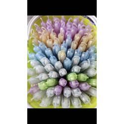 Sỉ 80 cây bàn chảy đánh răng Thái loại có hộp móc tặng 1 rổ như hình