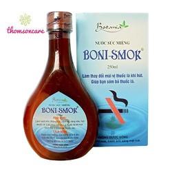 Nước súc miệng Boni Smok 150ml