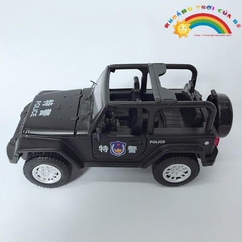 Xe oto sắt Cảnh sát  KA52
