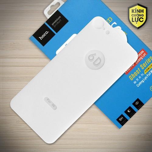 Miếng cường lực 6D iPhone 7 Full Hoco mặt sau trắng